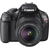 Walmart: Canon EOS Rebel T3 Digital Camera and 18-55mm IS II Lens Kit with Lightroom