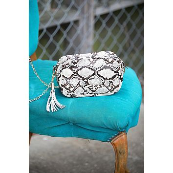 Snake Crossbody Mini Purse