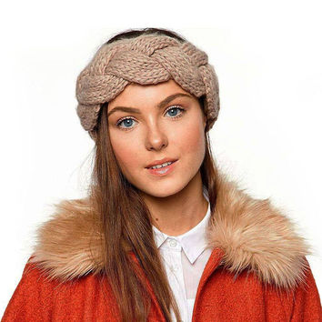 Jackie Headband in Camel