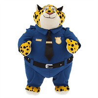 Disney - Clawhauser Plush - Zootopia - Medium - 13 1/2''