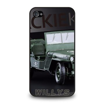 JEEP WILLYS TRUCK iPhone 4 / 4S Case