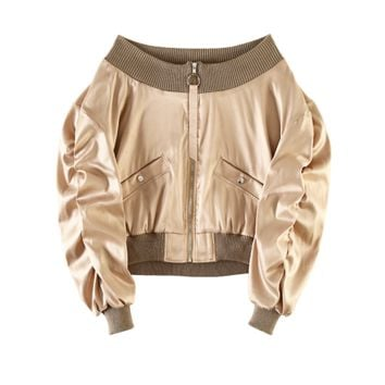 June Off the Shoulder Bomber
