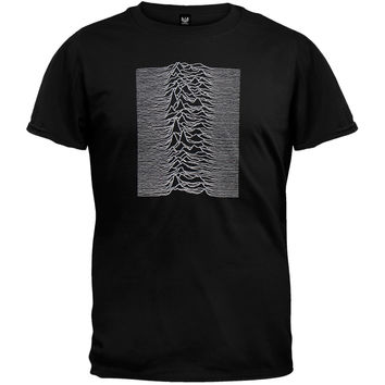 Joy Division - Unknown Pleasures Soft T-Shirt