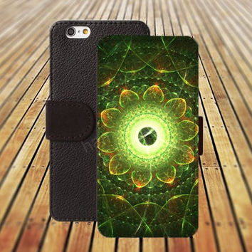 iphone 5 5s case colorful Mandara glass flower iphone 4/4s iPhone 6 6 Plus iphone 5C Wallet Case,iPhone 5 Case,Cover,Cases colorful pattern L185