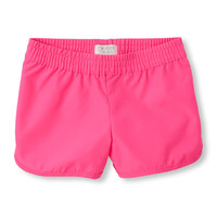 Girls Solid Board Shorts | The Children's Place
