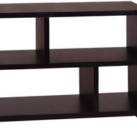Convenience Concepts Designs2Go Northfield Console Table Bookcase, Black
