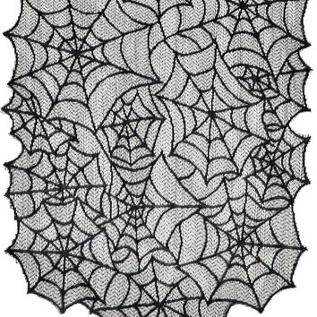 Spiderweb Lace Table Runner 2017 props