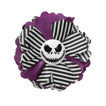 The Nightmare Before Christmas Skull Hair Flower