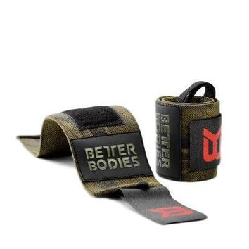 Better Bodies Camo Wrist Wraps