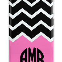 CHEVRON - CUTE MONOGRAM PHONE CASE
