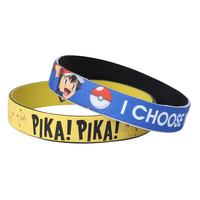 Pokemon I Choose You Rubber Bracelet 2 Pack