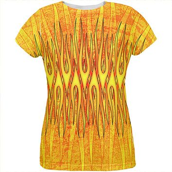 Flame On Fire Starter Pyromaniac All Over Womens T Shirt