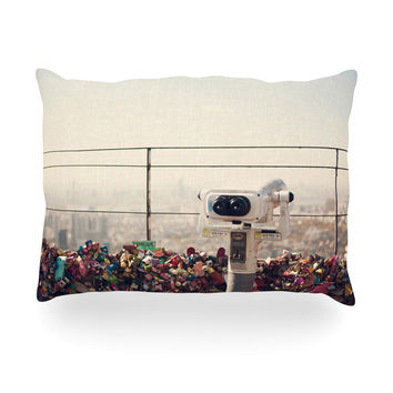 """Catherine McDonald """"The View Seoul"""" Oblong Pillow"""