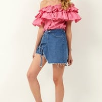 Kathleen Off-the-Shoulder Blouse Discover the latest fashion trends online at storets.com