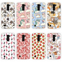 Phone Case For LG K10 2016 Soft Silicone TPU Cute Patterned Painting For LG K 10 2016 Case Cover