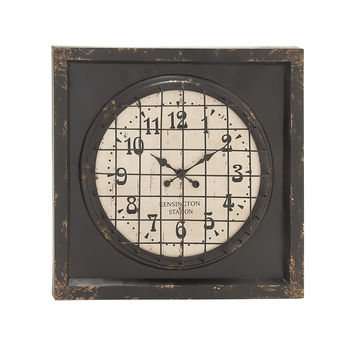 Grand, Cool And Matchless Metal Wall Clock