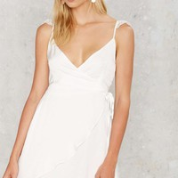 WYLDR Half Moon Wrap Dress