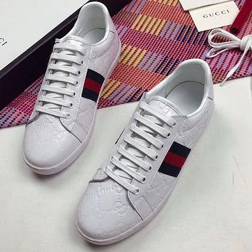 Gucci Women Fashion Casual Flats Shoes Sneakers Sport Shoes