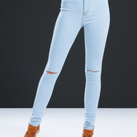 Daily Dose Slit Jeans