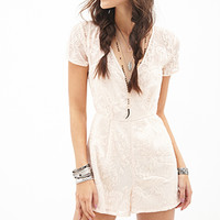 Baroque Embroidered Romper