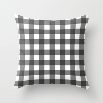 #41 Squares Throw Pillow by Minimalist Forms