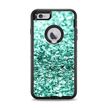 The Aqua Green Glimmer Apple iPhone 6 Plus Otterbox Defender Case Skin Set