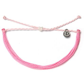 Pura Vida - Solid Bracelet | Breast Cancer Awareness
