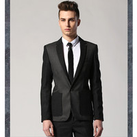 Designer Men Slim Fit Blazer Jacket