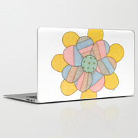 Blossom Laptop & iPad Skin by Erin Brie Art