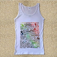 Mayday Parade Galaxy for Tank Top Mens and Tank Top Girls