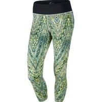 Nike Women's Epic Run Printed Cropped Running Tights