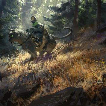 Scout, an art print by Mike Azevedo