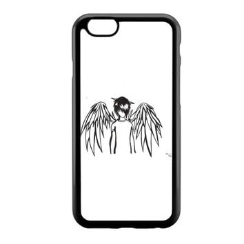emo angel by linkesammy iPhone 6 Case