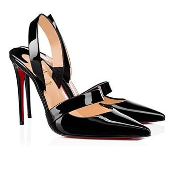 christian.louboutin New Fashion High-Heeled Sandals 100 mm