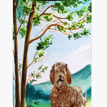 Under the Tree Labradoodle Tall Boy Beverage Insulator Hugger CK2568TBC