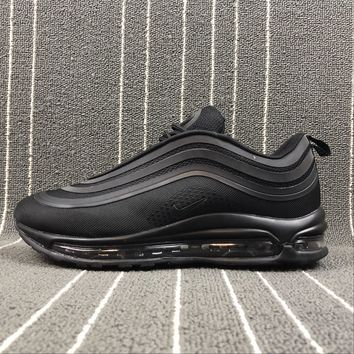 Nike Air Max 97 Ul '17 Black Bullet Sport Running Shoes 918356 002