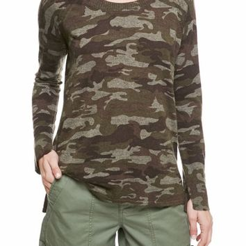 Sanctuary Renee Camo Print Sweater | Nordstrom