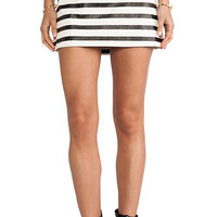 MINKPINK Next In Line Skirt in Black