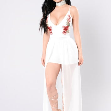 Can't Fade Away Dress - White