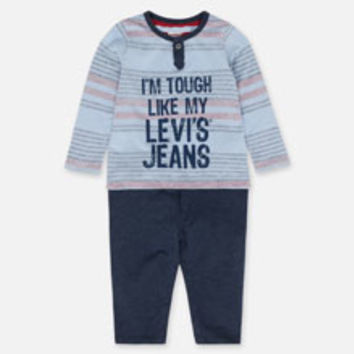 Boys' Levi's Baby Body Suit - Navy Blue - Kids