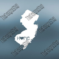 New Jersey Home State Svg Dxf Pdf Jpg Cut File | New Jersey File | Love JPG Sticker | Svg Dxf Jpg Jpeg  PDF | Digital Download | 070