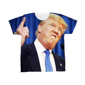 Donald Trump Life Size Sublimation Tee Shirt