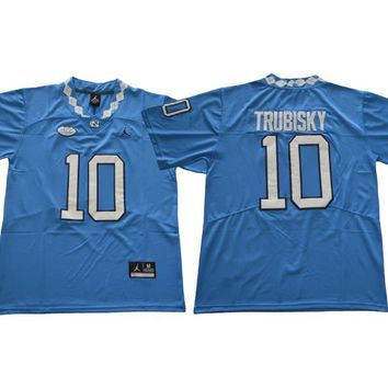 Mitch Trubisky UNC North Carolina Tar Heels (Youth Kids Sizes) Football Jersey