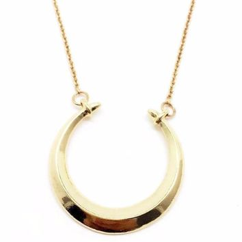 Camille | Crescent Moon Necklace