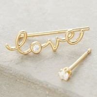 Love Climber & Post by Anthropologie in Gold Size: One Size Accessories