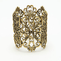 GOLD BAROQUE BANGLE