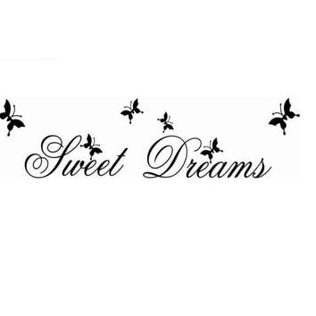 Sweet Dream Quote Wall Home Decoration Sticker