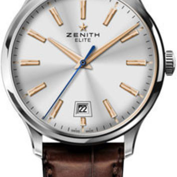 Zenith - Elite Captain Central Second Stainless Steel #03.2020.670/01.C498