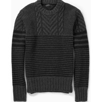 Belstaff - Burstead Patterned Wool Sweater | MR PORTER