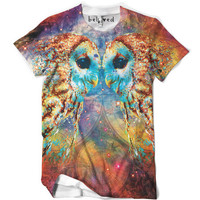 Owl Language Men's Tee